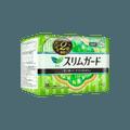 日本KAO花王 LAURIER乐而雅 零触感吸引力超薄日用卫生巾 无荧光剂 20.5cm 28片入