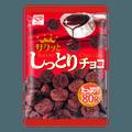 【尝味期限 2020/11/26】日本RISKA 粟米脆小饼 巧克力味 80g加量版