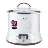 TONZE TIANJI Multi Function Stainless Steel Inner Pot Electric Stewpot Slow Cooker  2.2L DGD22-22EG