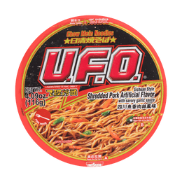 NISSIN UFO Sichuan Style ShredChow Mein Noodles 116g