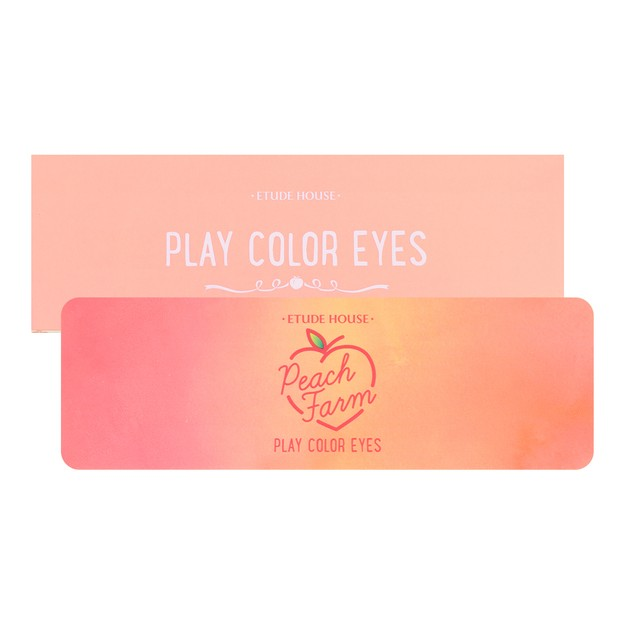 ETUDE HOUSE Play Color Eyes #Peach Farm 1pc