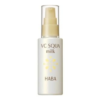 日本HABA 无添加主义鲨烷保湿VC乳液 60ml