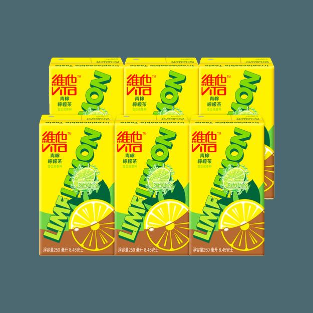 商品详情 - 香港VITA维他 青柠柠檬茶 250ml*6盒装 - image  0