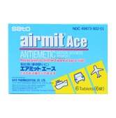 SATO AIRMIT ACE ANTIEMETIC 6 Tablets