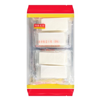 ZHOUJIMEISHI Shanghai Rice Crackers Original Flavor 400g