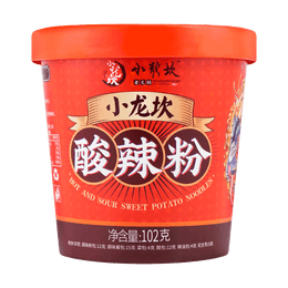 Hot and Sour Sweet Potato Noodle 102g