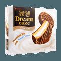 韩国LOTTE乐天  蒙西派 梦雪奶油蛋糕派 12枚入 384g 包装随机发
