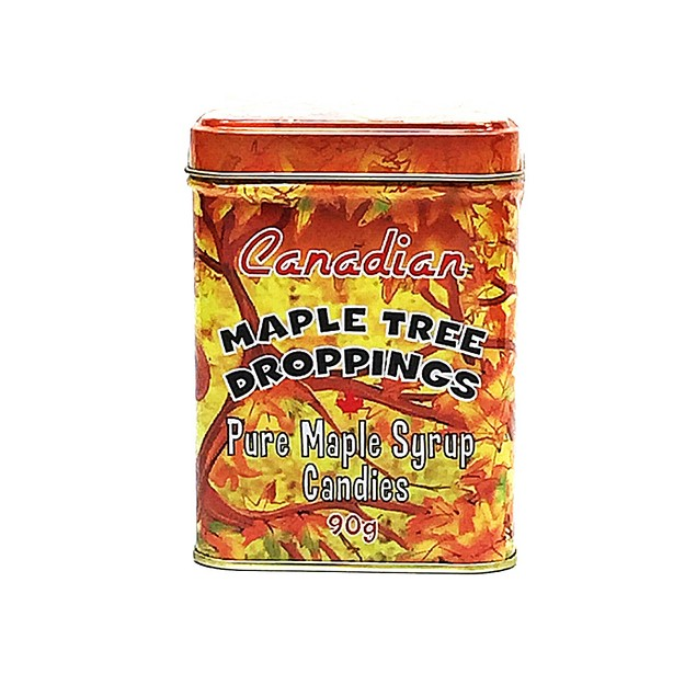 CANADA TRUE Pure Maple Syrup Candies  90g