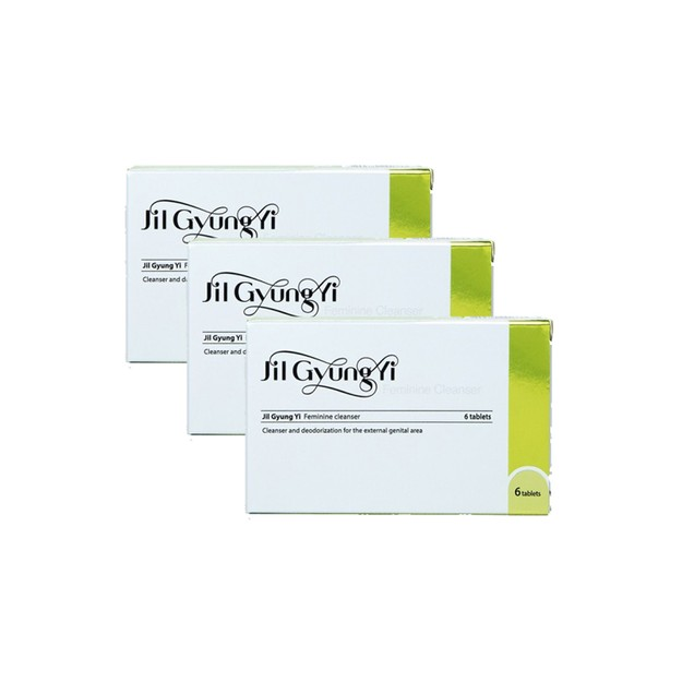 Product Detail - JILGYUNGYI Feminine Cleanser6 tablets  18pcs - image 0