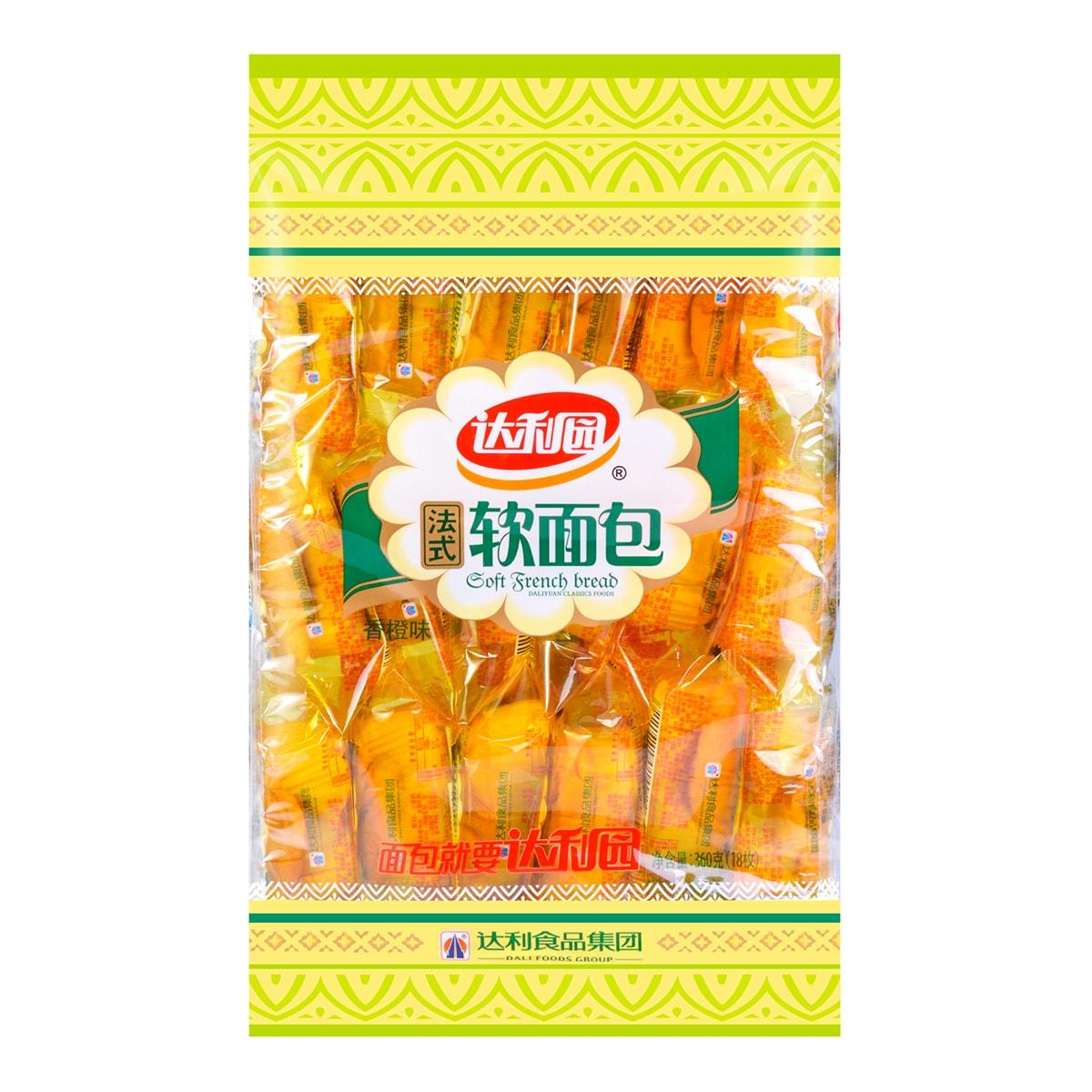Yamibuy.com:Customer reviews:DALI Soft French Bread Orange 18 Pieces  360g