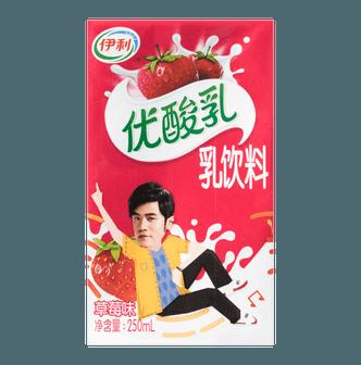 伊利 优酸乳 乳饮料 草莓味  250ml