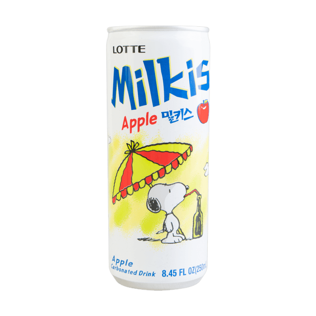 【Snoopy Edition】LOTTE Milkis Apple Flavor 250ml