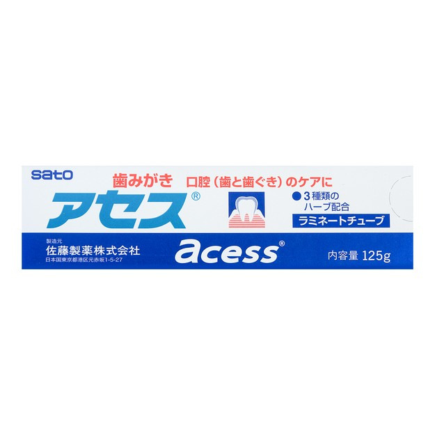 Product Detail - SATO ACESS For Oral(Teeth & Gums)Care Toothpaste 125g - image 0