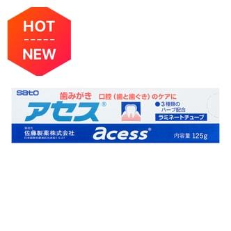 日本SATO佐藤 ACESS 牙周护理牙膏 125g