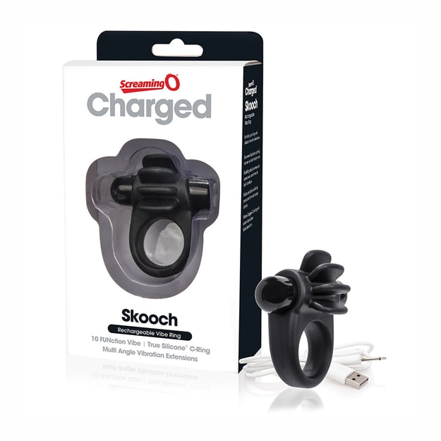 Product Detail - SCREAMING O Charged Skooch Ring #Black - image 0