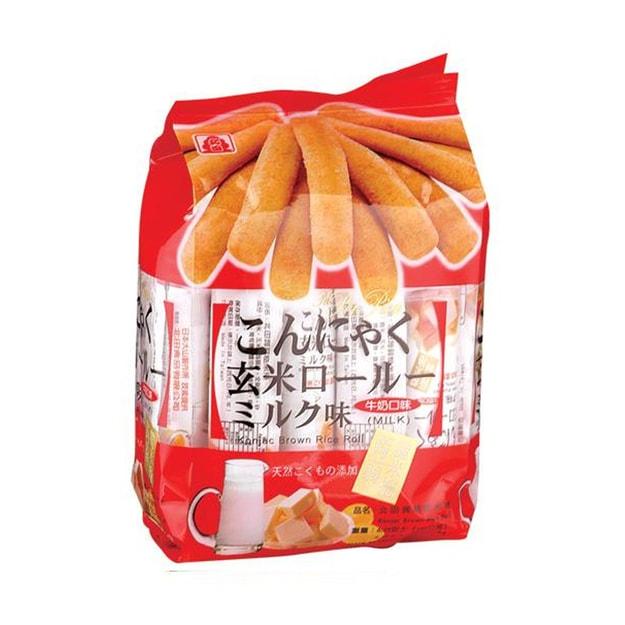 商品详情 - 北田蒟蒻糙米卷-牛奶口味160g - image  0