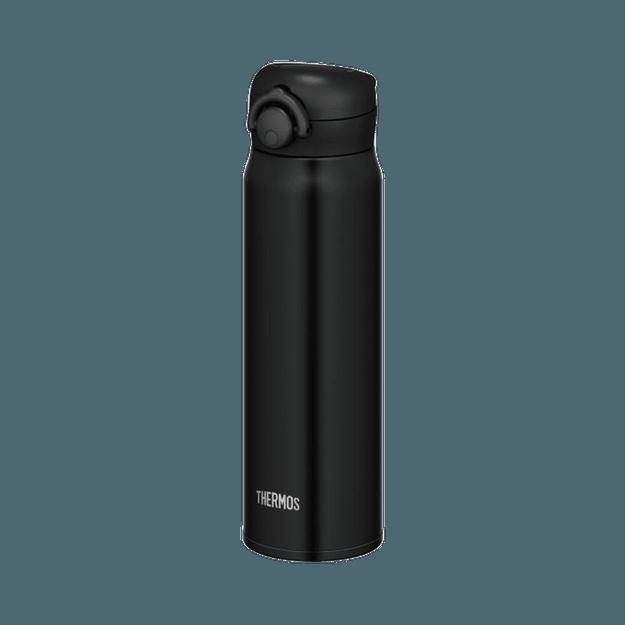 商品详情 - THERMOS 膳魔师  一触式轻量便携真空隔热保温杯  黑色 600ml 1个 - image  0