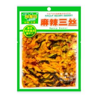 四川味聚特 麻辣三丝 138g 不同包装随机发