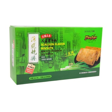 Mincher Egg Roll Biscuits Scallion Flavor 72g