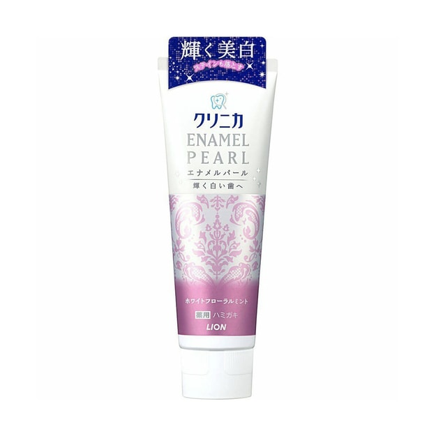Product Detail - Enamel Pearl White Floral Mint Toothpaste 130g - image  0