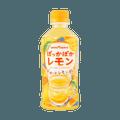 【每日VC补充】日本POKKA SAPPORO 果汁4%添加 柠檬果汁饮品 345ml