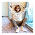 [KOREA] MAGZERO Lovely Fleece Pajama 2 Piece Set #Brown One Size(S-M) [Free Shipping]