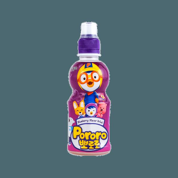 商品详情 - 韩国PORORO 果味饮料 蓝莓味 235ml - image  0
