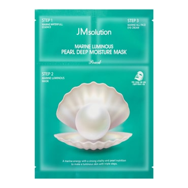 JM SOLUTION Pearl Deep Moisture Mask 1 sheet