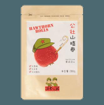 YI-MENG Commune Hawthom Rolls 280g