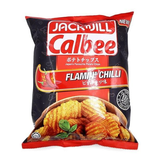 商品详情 - 【马来西亚直邮】日本 JACK N JILL 火热辣椒味薯片 60g - image  0