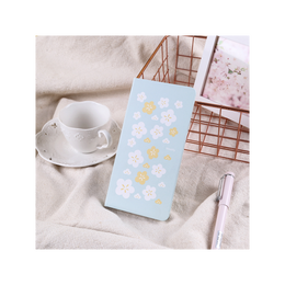 Diary Stationery Notebook Handbook #Green Sakura