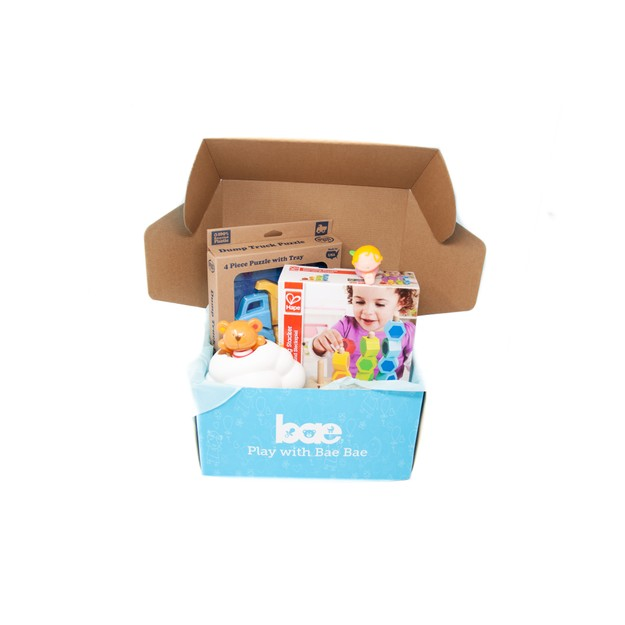 Product Detail - US Bae Bae Box 14 months baby toy box 4 pieces - image 0