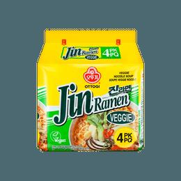 韩国OTTOGI 金拉面 蔬菜口味 4包入