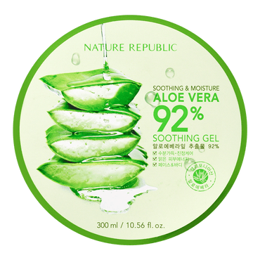 Soothing And Moisture Aloe Vera 92% Soothing Gel, 300ml