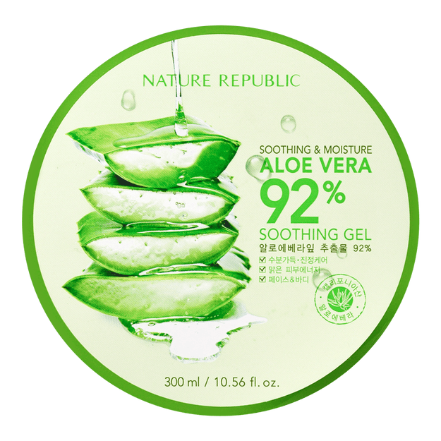Product Detail - NATURE REPUBLIC Soothing And Moisture Aloe Vera 92% Soothing Gel - image 0