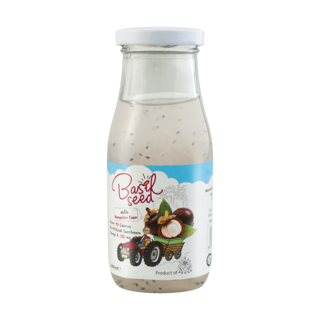 Product Detail - Mayan Basil Seed Fruit Drinks Mangosteen 280ml - image 0