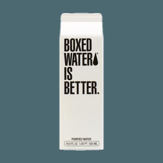 商品详情 - 美国BOXED WATER 网红环保矿泉水 500ml - image  0
