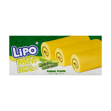 LIPO Mini Swiss Roll Vanilla Flavor 288g