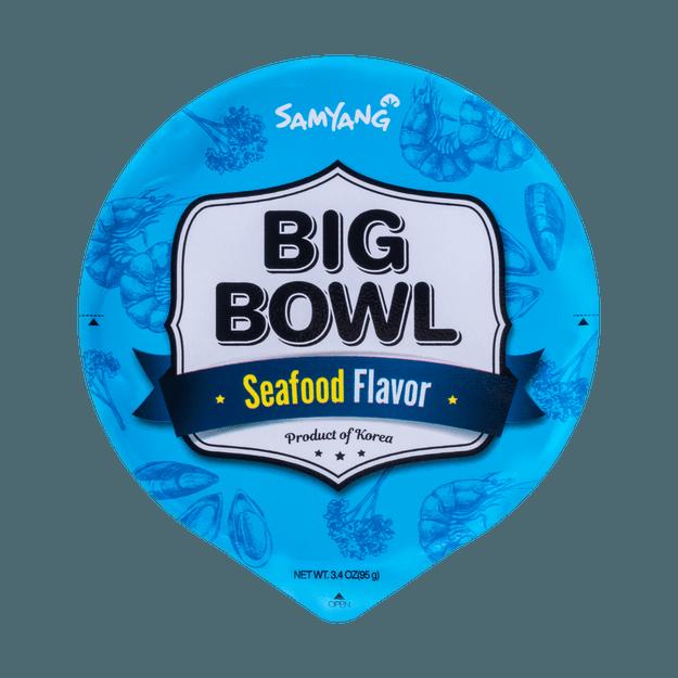 Product Detail - SAMYANG BIG BOWL Noodle Seafood Flavor 95g - image 0
