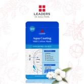 LEADERS EX Solution Aqua Coating Mild Cotton Mask 5ea