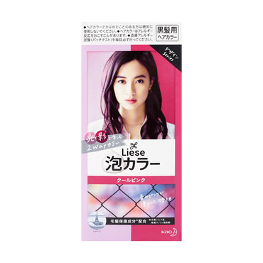 KAO LIESE PRETTIA Bubble Hair Dye Cool Pink 1set