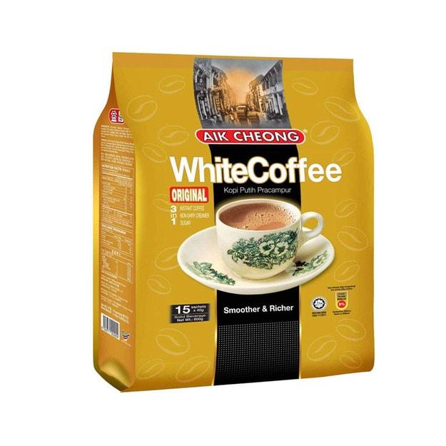 商品详情 - AIK CHEONG 3 合 1 白咖啡 15小袋 共600克 - image  0