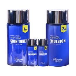 Facis Homme Everyday Fresh After-Shave Toner 160ml + Emulsion 160ml Skin Care 2 Set