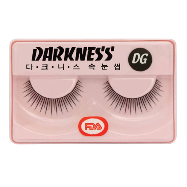 Product Detail - DARKNESS False Eyelashes #DG 1Pair In 1Box - image 0