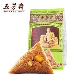 【中国直邮】五芳斋粽子 原产地直邮 栗子猪肉粽 嘉兴特产端午节粽子280g*1