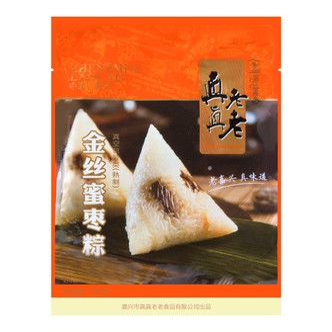 真真老老 金丝蜜枣粽 粽子 2只装 250g