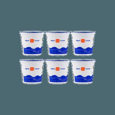 【冷冻】【超值组合装】北京 酸奶 原味175g*6