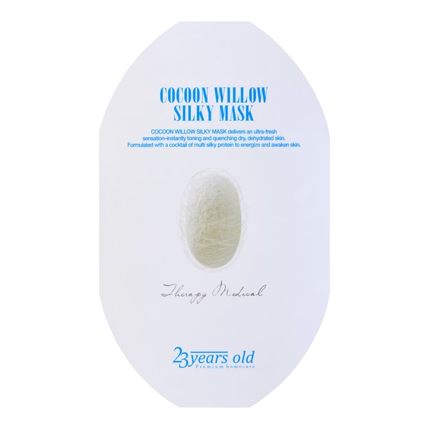 23 YEARS OLD Cocoon Willow Silky Mask 1sheet
