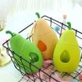 【中国直邮】蔡同昌 鸭梨便携可爱水杯提绳户外新款时尚玻璃杯随手杯 橙色