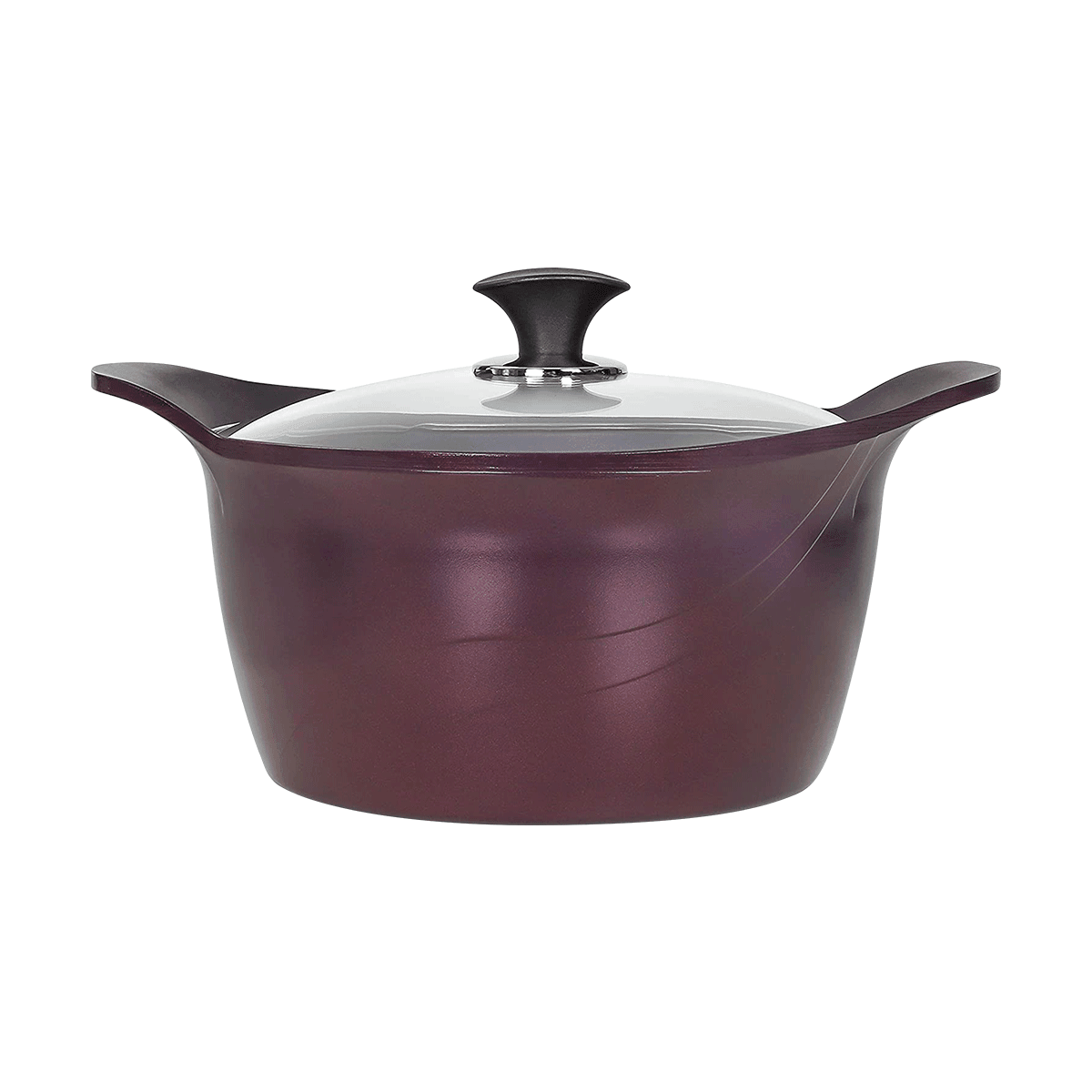 Yamibuy.com:Customer reviews:PurpleChef  7 Quart Nonstick Stock Pot with Lid - INDUCTION COMPATIBLE